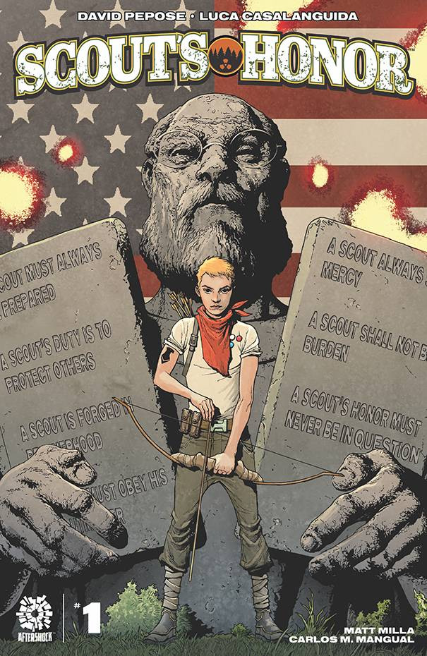 Scout's Honor #1 cover art by Andy Clarke