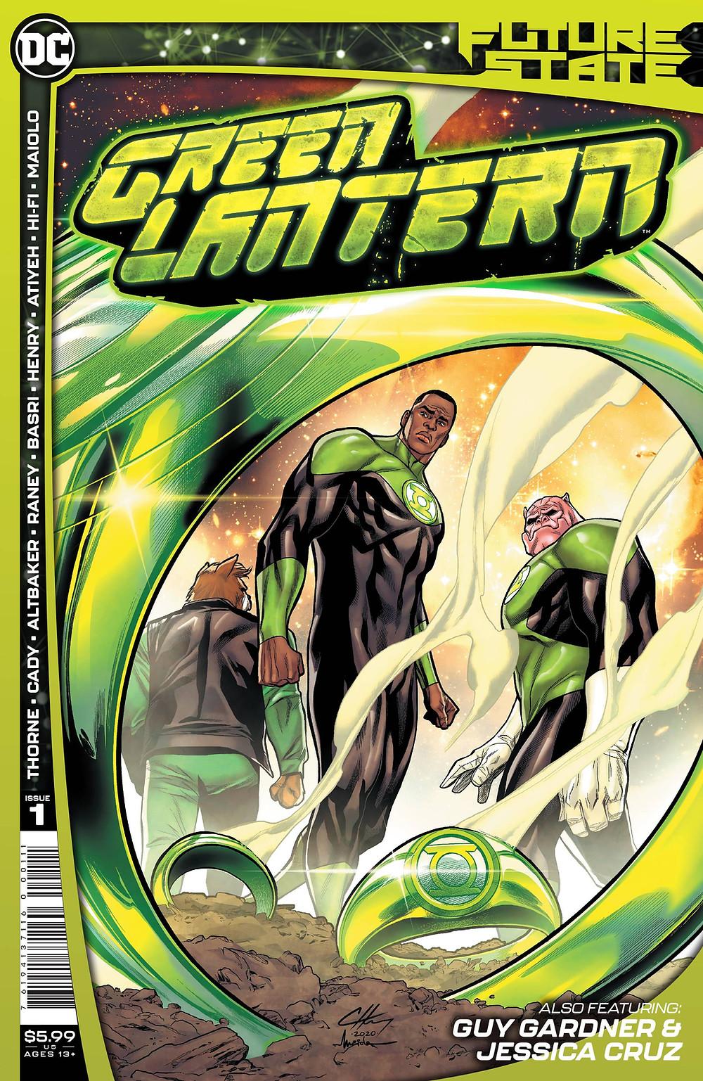 Future State: Green Lantern #1