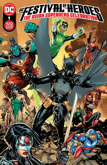 DC FESTIVAL OF HEROES ASIAN SUPERHERO CELEBRATION