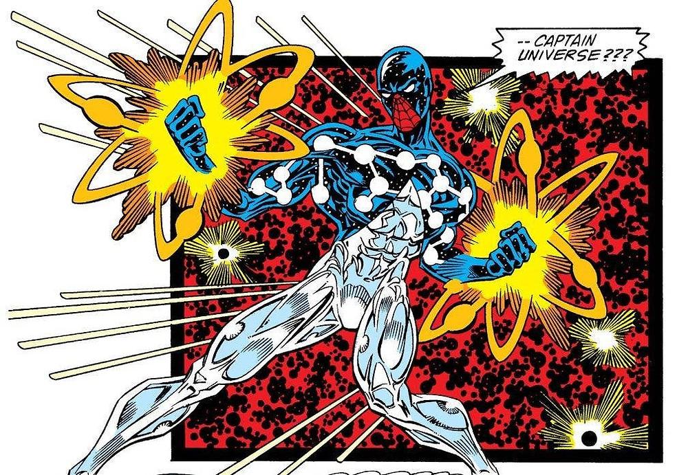 Spider-Man as Captain Universe - Artist Unknown (c) Marvel Comics