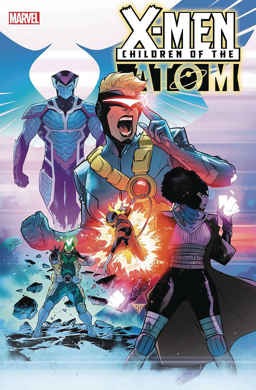 Children of the Atom #1 cover