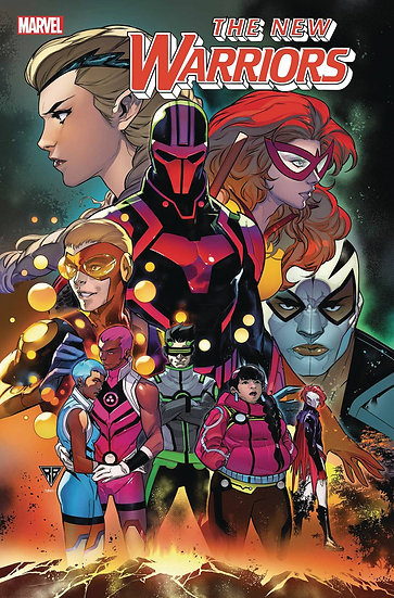 NEW WARRIORS #1 (OF 5) OUT (75960609706700111)