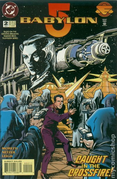 The cover of Babylon 5 #2
