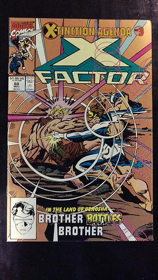 X FACTOR #60 (NOV 90) (2ND PRINT)
