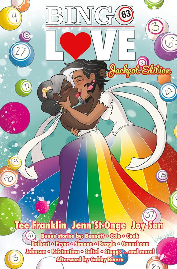 Hazel and Mari from the Graphic Novel Bingo Love Art by Joy San & Jenn St-Onge