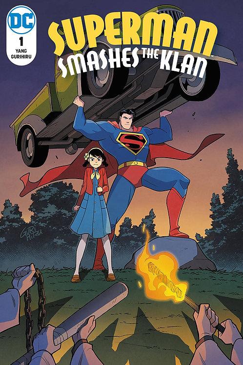 SUPERMAN SMASHES THE KLAN #1 (OF 3)