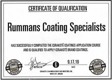 Rummans Coating Specialists Basic Cerakote Certification