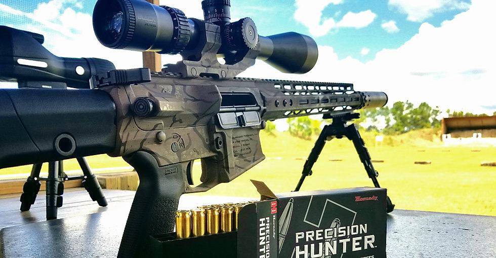 Suppressed .308 AR10