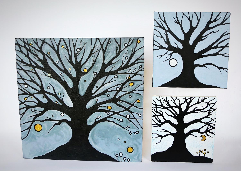 Three Tree Studies