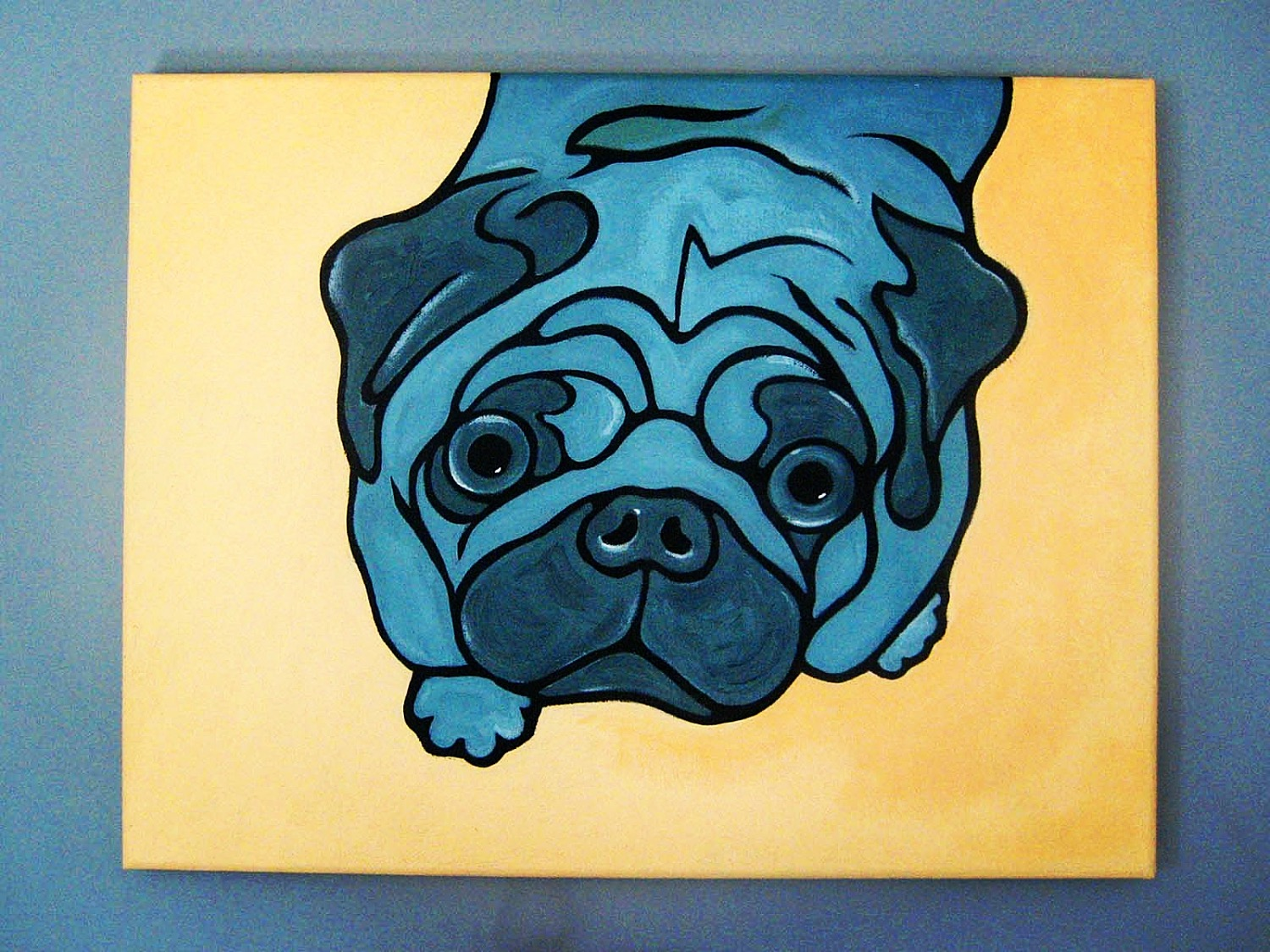 """A Pug of a Different Color"""
