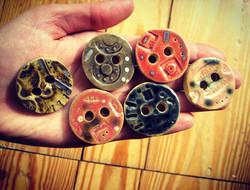 Handmade Ceramic Buttons