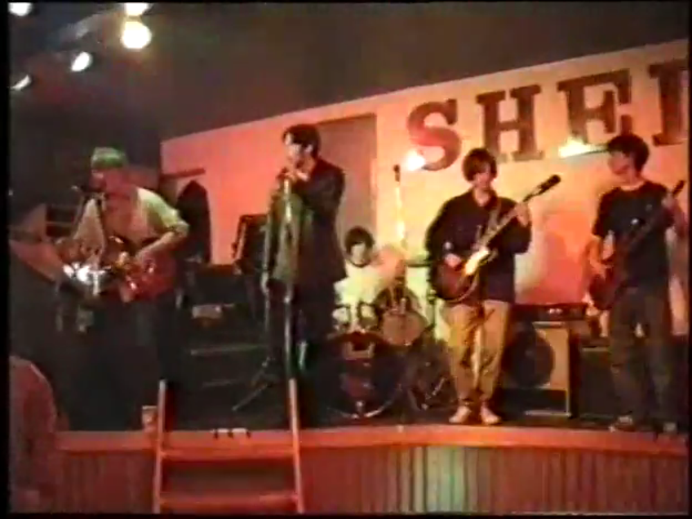Marvel playing live at The Shed