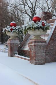 Holiday Decor Christmas Pottery by Kellys Garden Sense