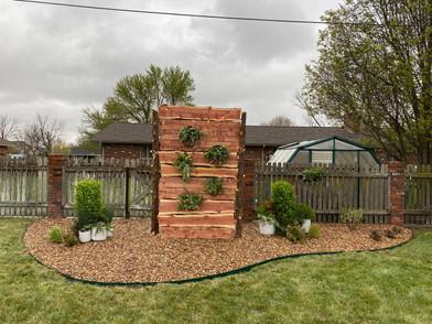 Wedding Backdrop by Kelly's Garden Sense