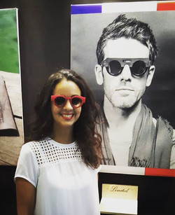 FAMILY AT THE BOOTH - PARIS __ HALL 5 Booth M100 __ #jeanphilippejolysunglasses #passionisborn #inde