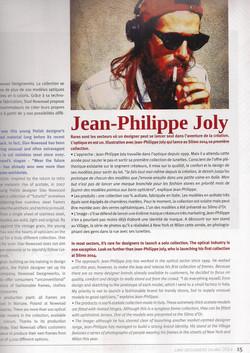 PRESS JEAN PHILIPPE JOLY PRESS