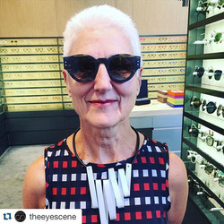 In AUSTRALIA - SYDNEY - _theeyescene ・・・_The lovely Jenni choose _jeanphilippejolysunglasses today!
