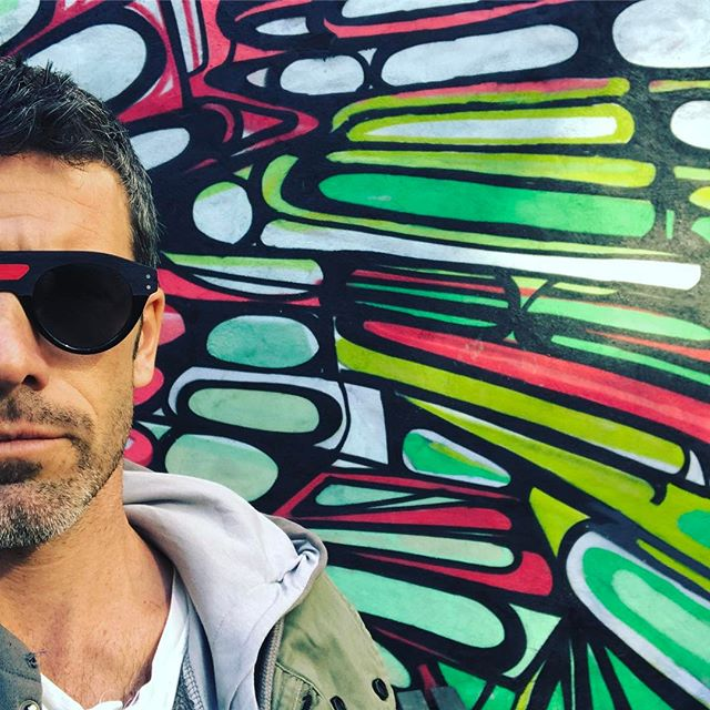 STREET ART - NYC - LIFESTYLE  first day so good feeling #jeanphilippejolysunglasses #passionisborn #