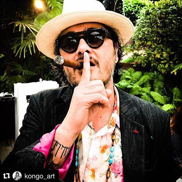 _kongo_art ・・_Big man don't talk!!! Picture by _sergelipo _#rolandgarros #paris #contemporaryart #ko