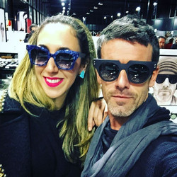 THE MOST STYLISH BLOG -  _bytheeyewear  CHANTAL & JEAN PHILIPPE JOLY  _ style { L u i and E l l e }