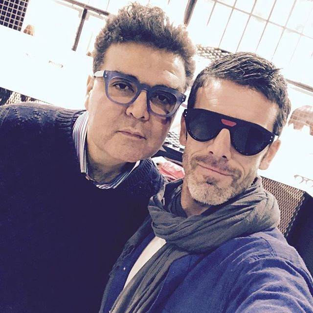 The famous BRUNO ZANA from Paris  _brunozanaopticien _eyelike
