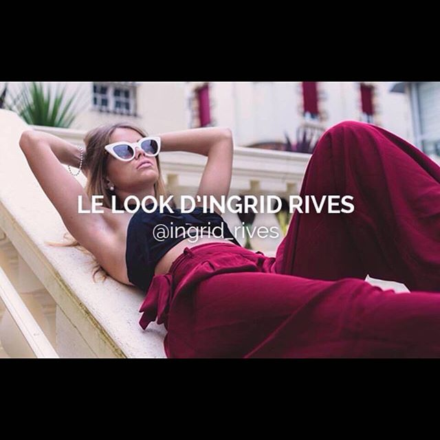 Repost from _claireetfrancois - The #instabloggueuse _ingrid_rives with _jeanphilippejolysunglasses