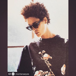 #Repost _montanaeyes with TOP MODEL _nikiaphoenix WEAR THE STYLE { A r t i s t e } by JEAN PHILIPPE