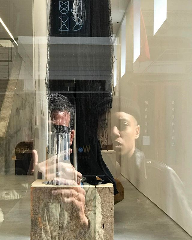 VISION EFFECT in SOHO - A WAY TO MEET PEOPLES #jeanphilippejoly #passionisborn #independentdesigner