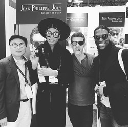BE CRAZY - BE HAPPY - BE DIFFERENT #jeanphilippejolysunglasses #passionisborn #independentdesigner #