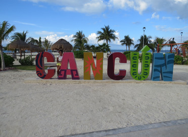 Mis vacaciones en la Riviera Maya, mexicana.