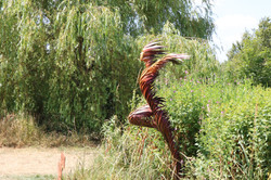 Sculptures by the Lake