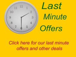 Last Minute Availability