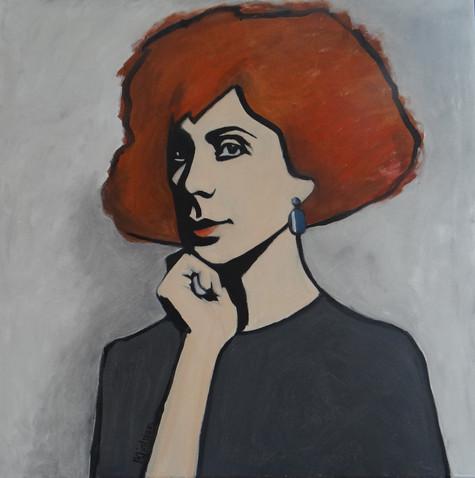 Alex II, oil on canvas, 60x60