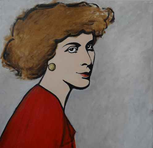 Alex III, oil on canvas, 60x60