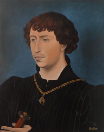 Charles le Téméraire d'après vander Weyden, 100x120 S