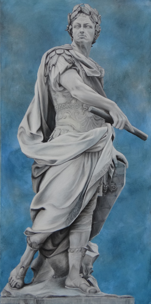 Julius Caesar, oil on canvas, 70x140