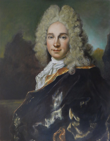 Pierre de Mongazon d'après Largillière, 65x82 S