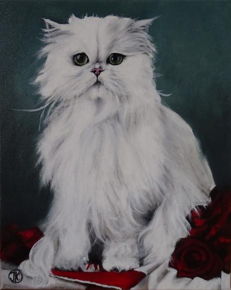 Missie, oil on canvas,33x41
