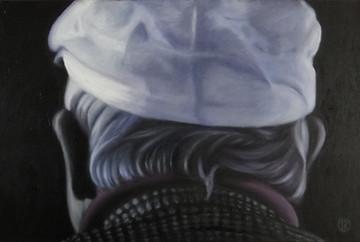 Hockney, oil on canvas, 60x40