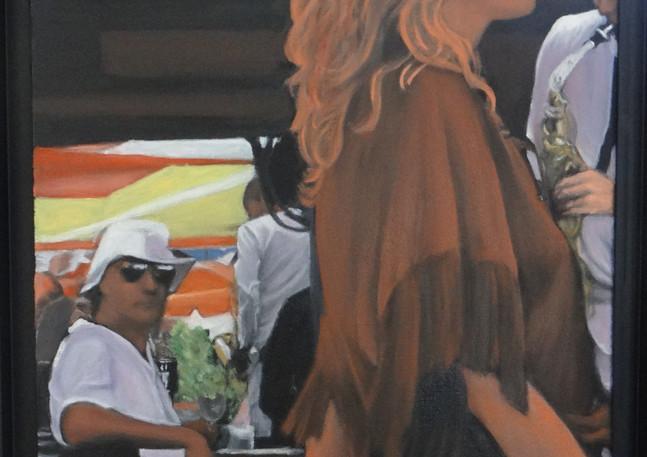 The bar at Tahiti Beach, oil on canvas, 40x60 S