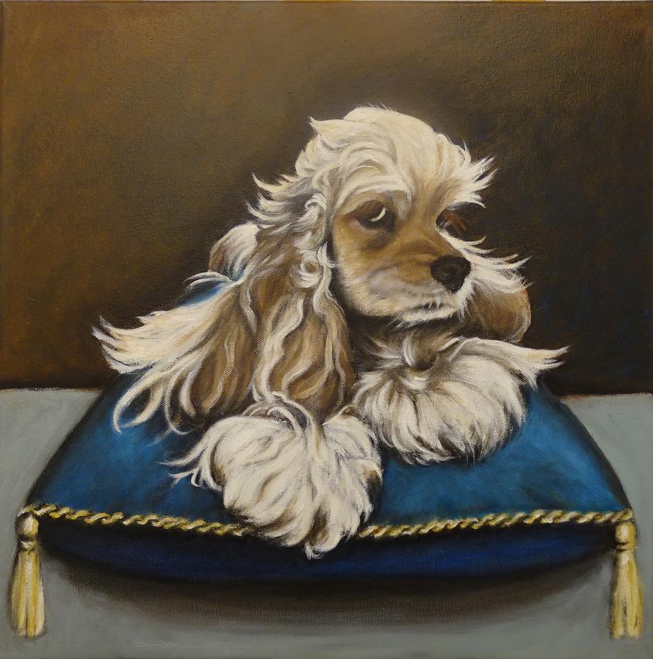 Wilma, oil on canvas, 40x40, 2020 jan, S
