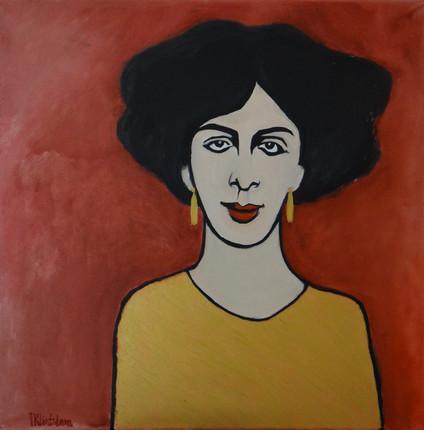 Alex IV, oil on canvas, 60x60