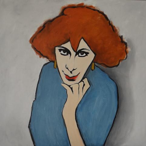 Alex I,  oil on canvas, 60x60 S