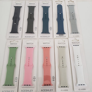 PULSEIRA SILICONE APPLE WATCH 42 44MM