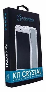 KIT CASE + PELICULA 3D GUARDIAN IPHONE 11