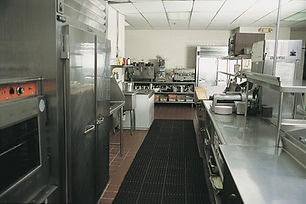 Bao Long fastfood kitchen