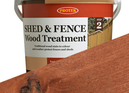 Protek Shed and Fence Treatment Nut Brown 5 Litre
