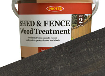 Protek Shed and Fence Treatment Black 5 Litre