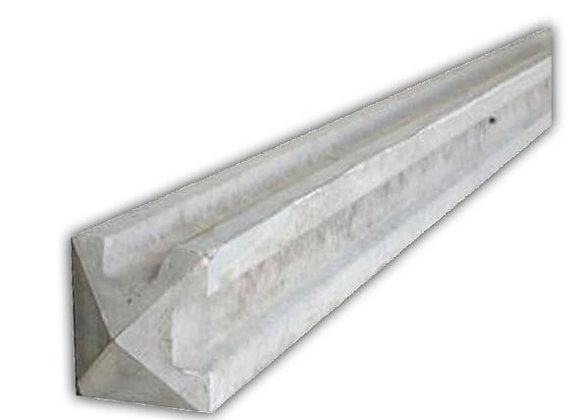 Concrete Slotted Corner Post