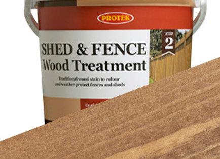 Protek Shed and Fence Treatment Russet 5 Litre
